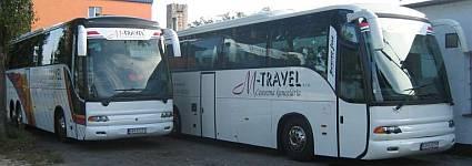 Autobus, preprava osôb M-travel s.r.o.
