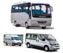 Ostatné veľkosti autobusov a mikrobusov